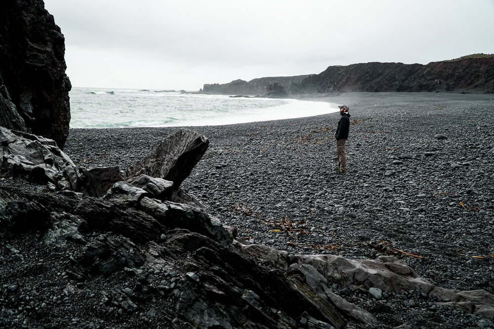 Lóndrangar Rock Pinncales Beach Iceland.jpg