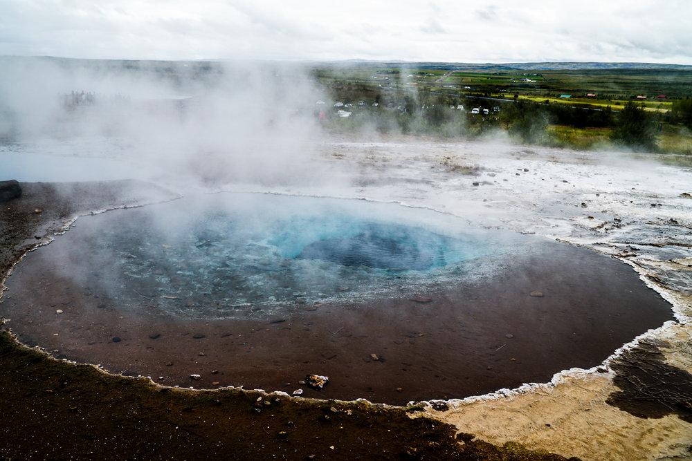 Strokkur Geyser Haukadalur Valley Iceland.jpg