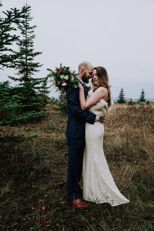 Portland Oregon Tree Farm Wedding Photography 7