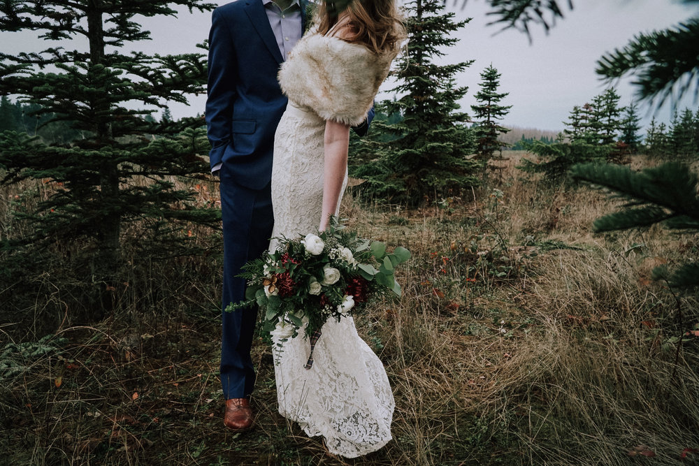Portland Oregon Tree Farm Wedding Photography 14
