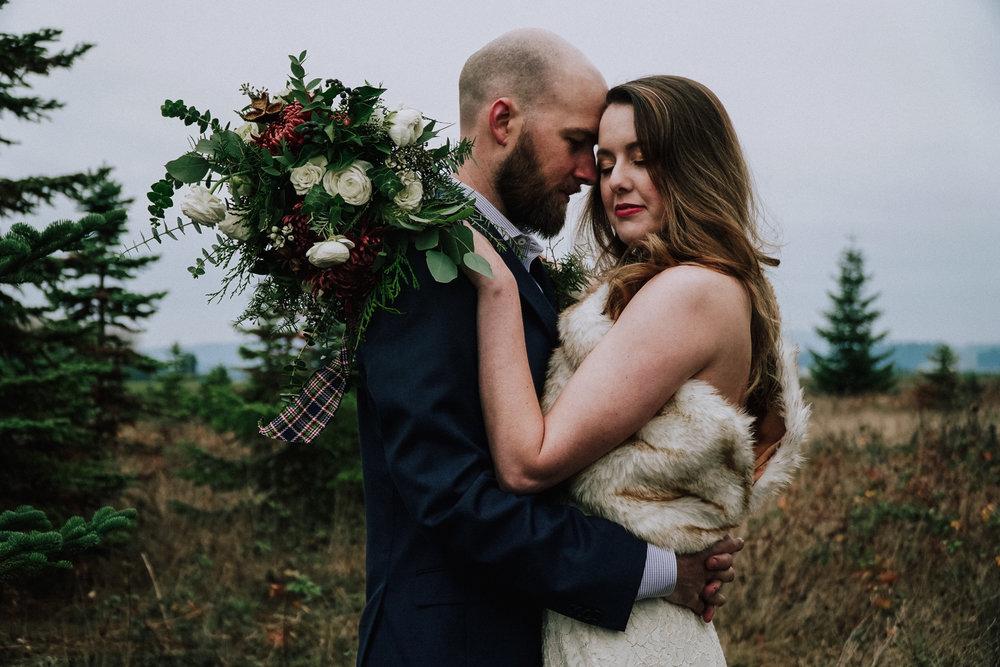 Portland Oregon Tree Farm Wedding Photography 15