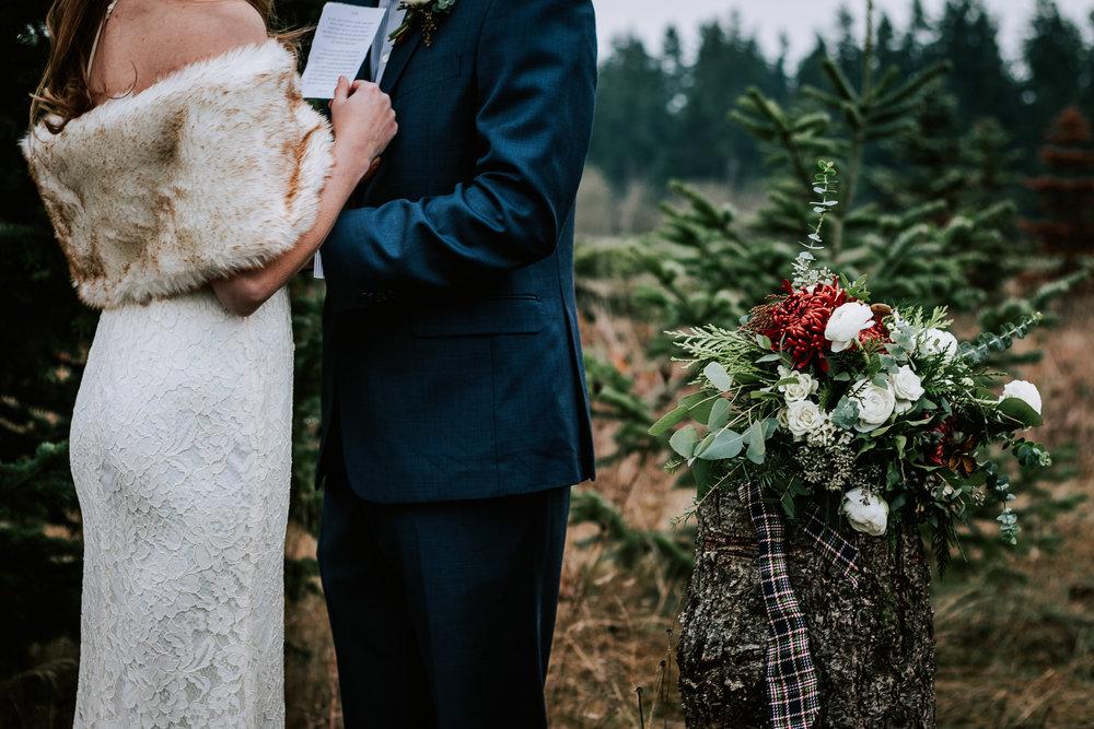 Portland Oregon Tree Farm Wedding Photography 17