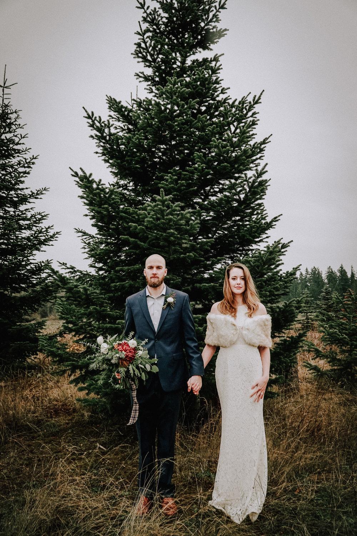 Portland Oregon Tree Farm Wedding Photography 16