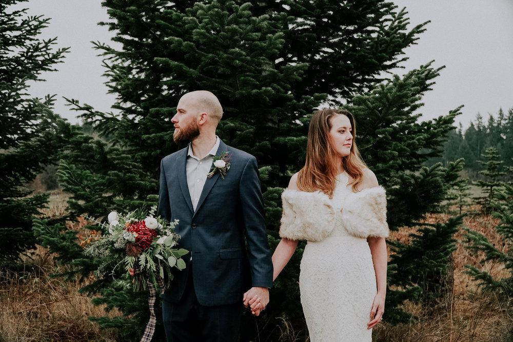 Portland Oregon Tree Farm Wedding Photography 21