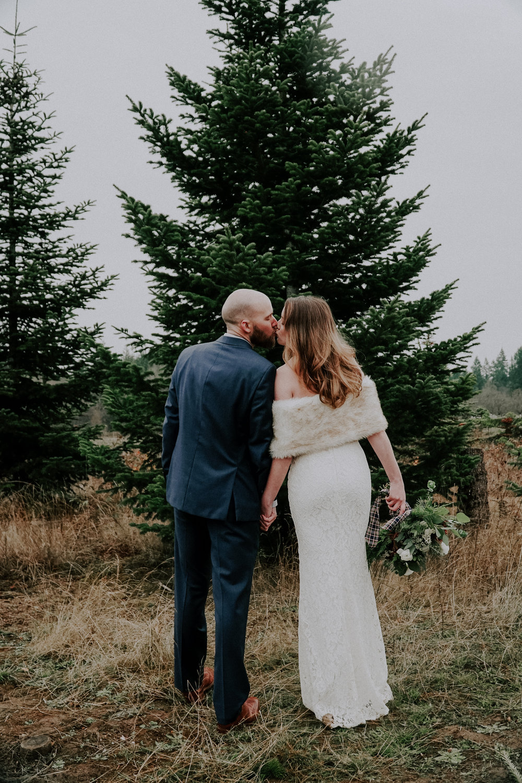 Portland Oregon Tree Farm Wedding Photography 23