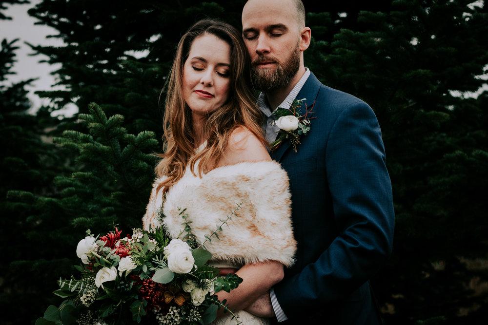 Portland Oregon Tree Farm Wedding Photography 33