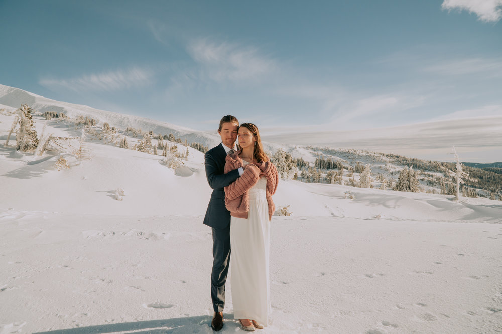 Mt Hood Timberline Elopement