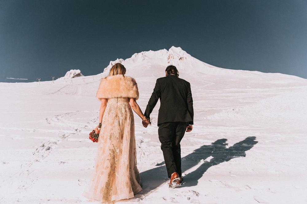 Timberline Lodge Wedding Portland Oregon Mount Hood