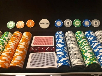 Our custom poker chips. Which currency is next?