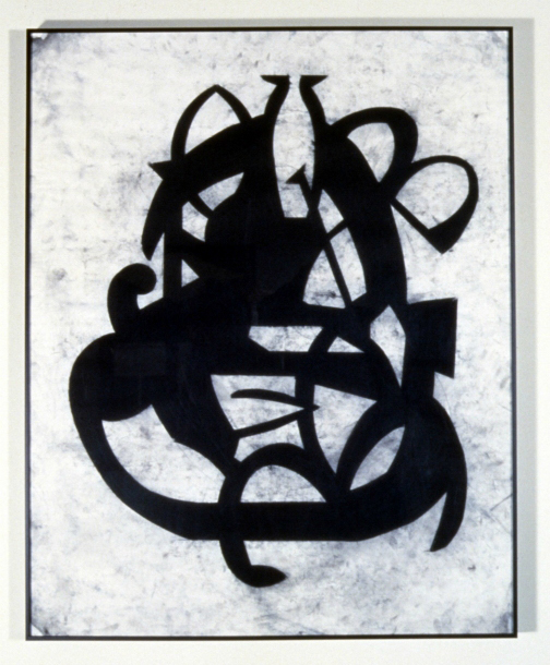 Szymanski_Carol_Broken_Phonemes_1987_Study_for_Masque_Concealment_Charcoal_on_Vellum_19x24_inches.jpg