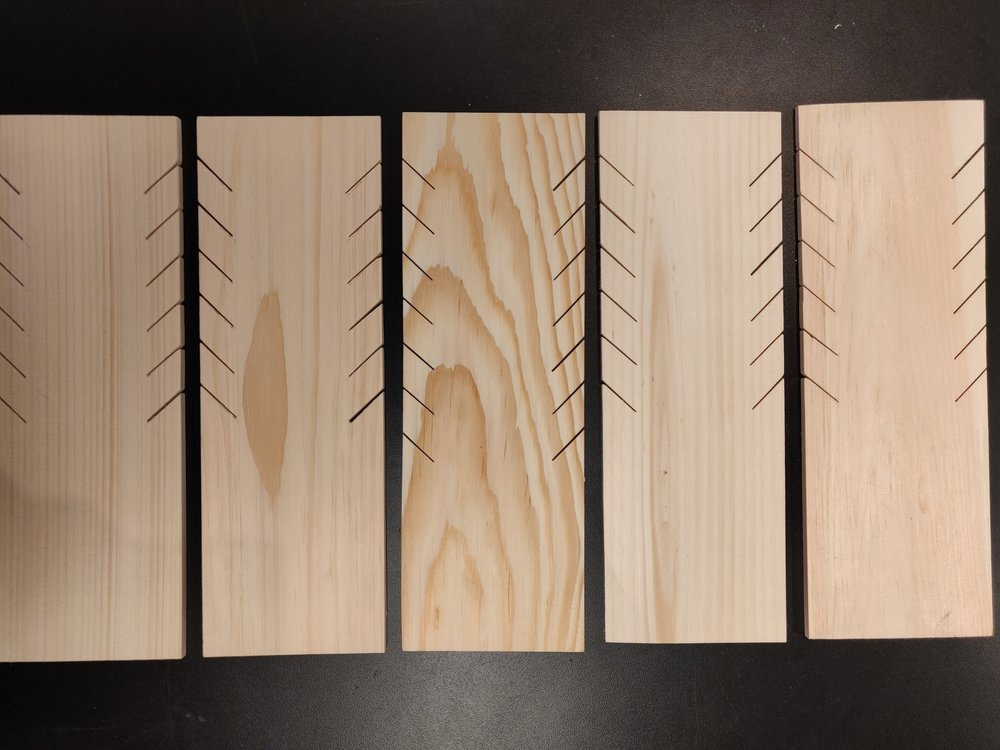 Vertical pieces