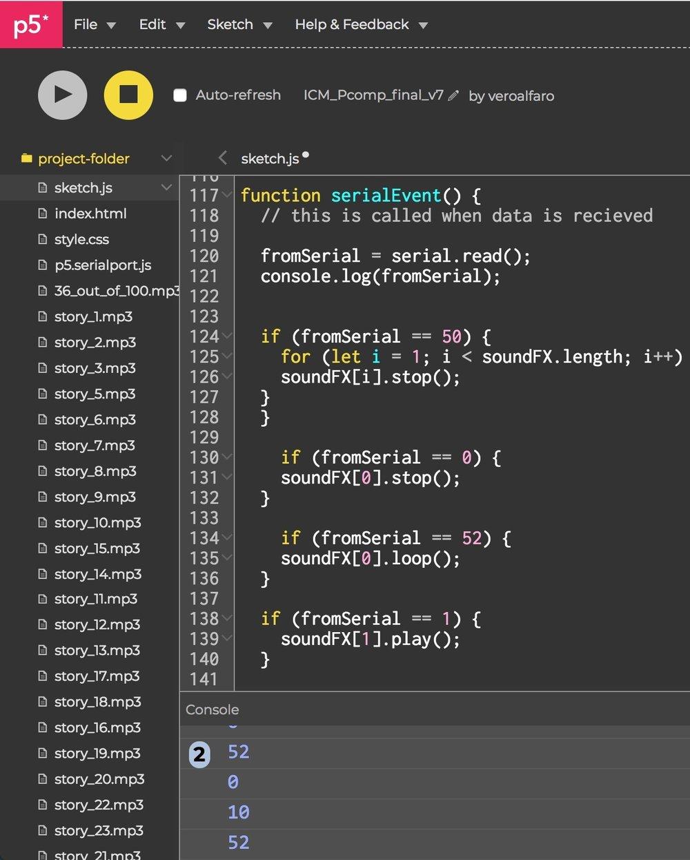 p5.js Code