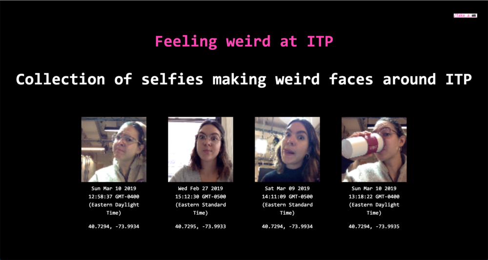 Weird selfies collection