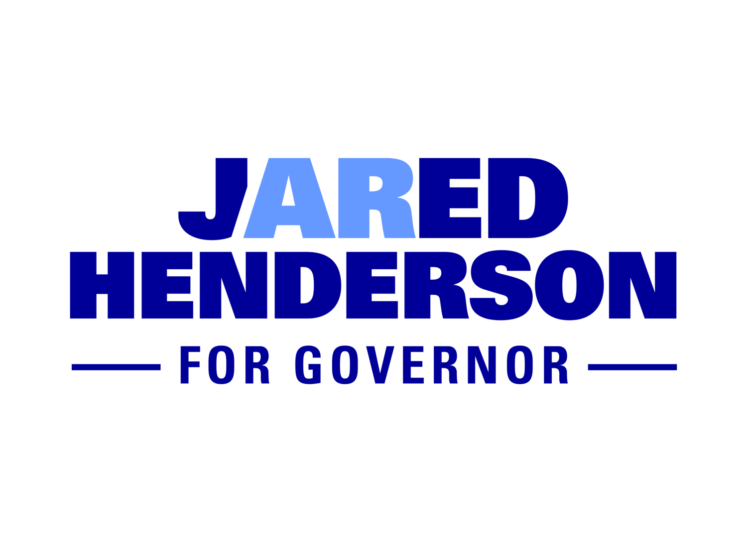 Jared Henderson for Governor