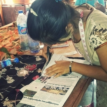 At Trinity Nazarene Church in Myanmar, discipleship and livelihood training became a joint ministry. -