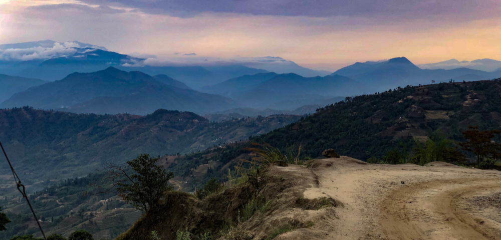 This image was taken from the drive from the capitol city of Kathmandu, Nepal, toward Upper Bhotsipa, one village where NCM Nepal is working to provide long-term recovery support after the 2015 earthquake.