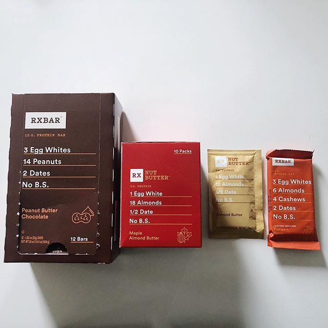 Somebody stocked up on all the basic 🍁flavors. #itwasme . . . . . #rxbar #fall #cleaneats #crossfit #nobs #nutbutter