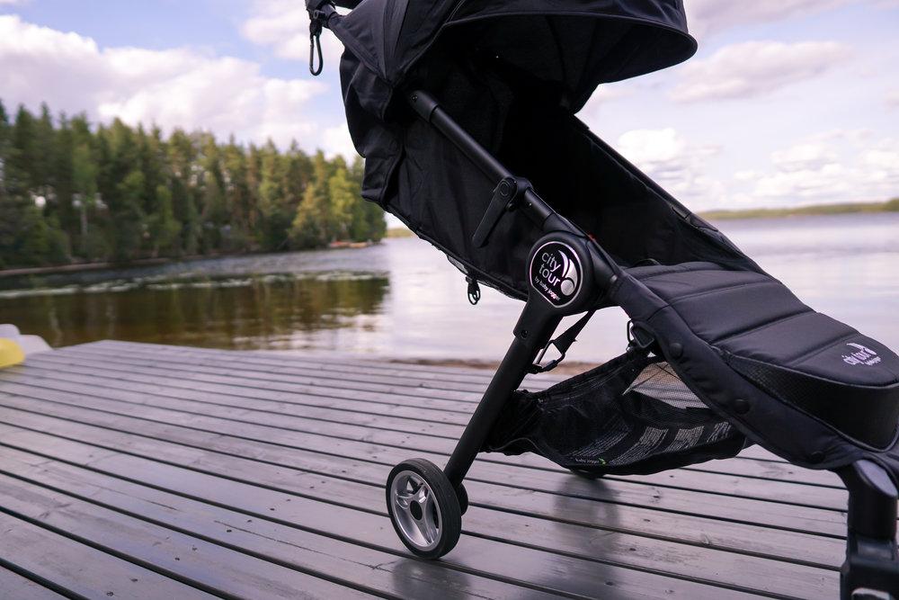 Happytrails.fi Olkinuora-Valkonen Baby Jogger City Tour