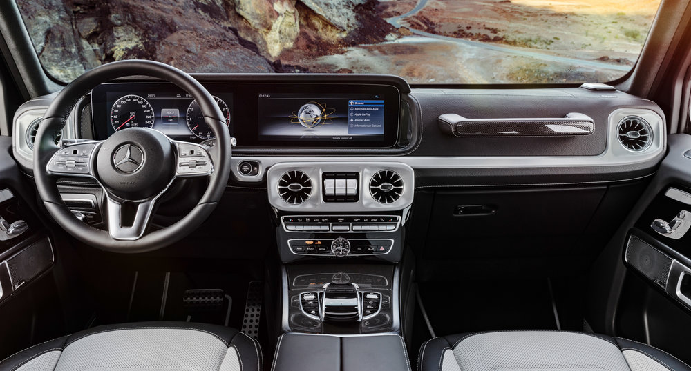 interior of the new G Class Rawkus tv.jpg