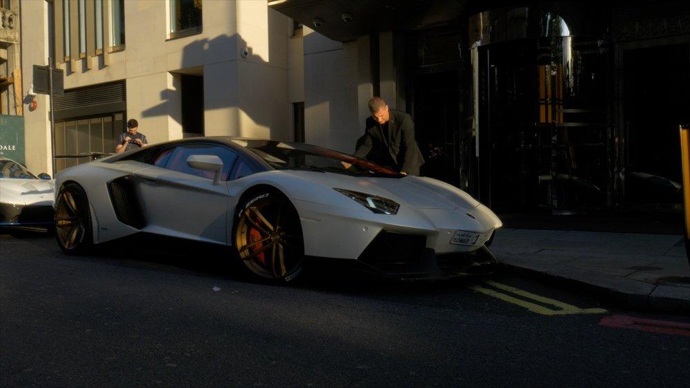 Valet Curbs Lamborghini Aventador.JPG