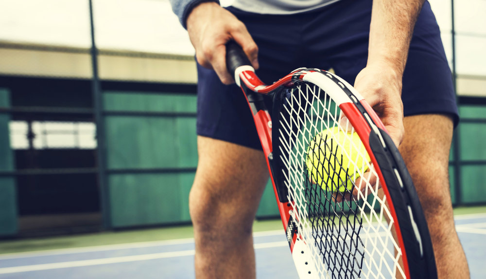 Up your game. - Sharpen your skills by challenging a friend to a game of tennis on our courts. Doubles anyone?