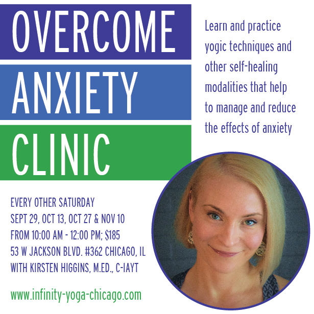 Overcome Anxiety Clinic - Yoga in Chicago Loop
