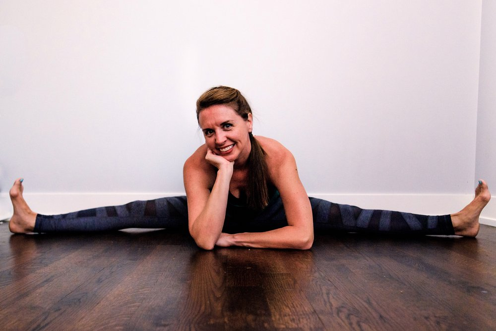 Erica Bray - Yoga in the Chicago Loop