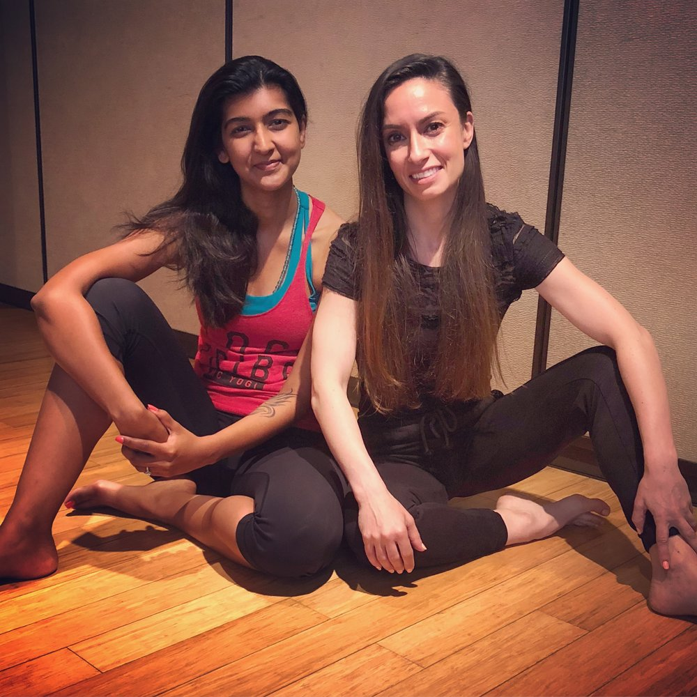 Rajni & Alyson - Yoga in Chicago