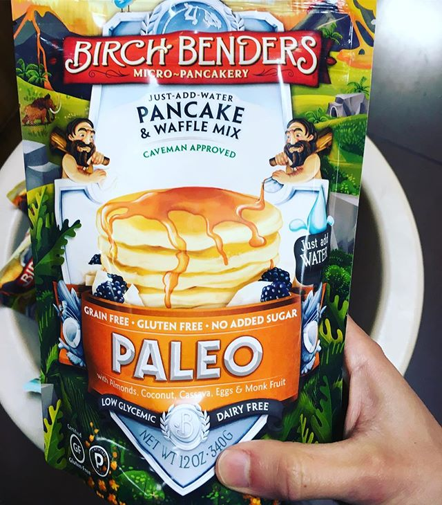 Yum! $3 for 22 medium pancakes 🥞. Grab a bag for the lake, throw in a container of berries and a small maple syrup and you're set! #foragewithsarah #paleo #pancakes #grocerydelivery #groceryshopping #carltonlanding