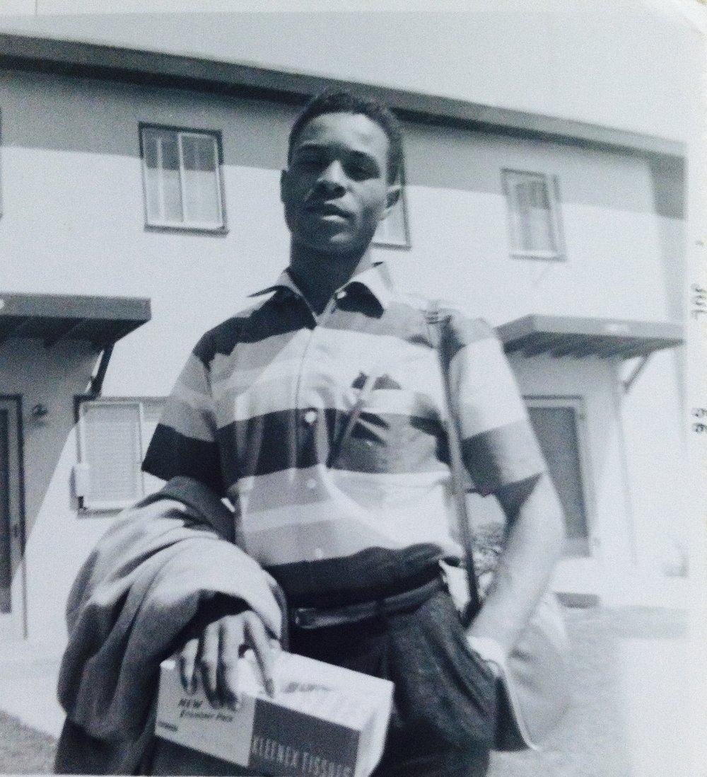 Grady Ayers  California, 1956
