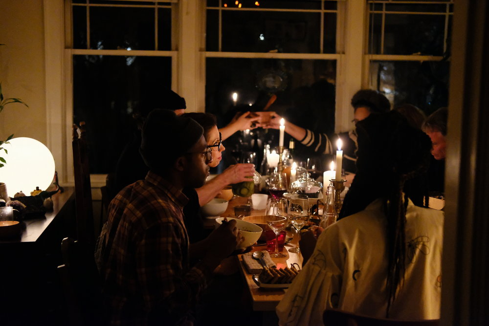 American Identity Dinner hosted by  Hausfrau Home . Photography by loren othon.