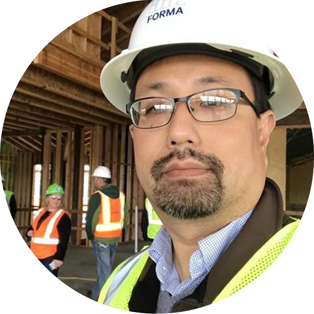 Tom at the new Chehalis K-2 school under construction, 2017 - Now, Tom joins the KMB Project Management / Owners Representative studio and brings his background as both a designer and a grant administrator to our team. We look forward to seeing his impact on our local school facilities!