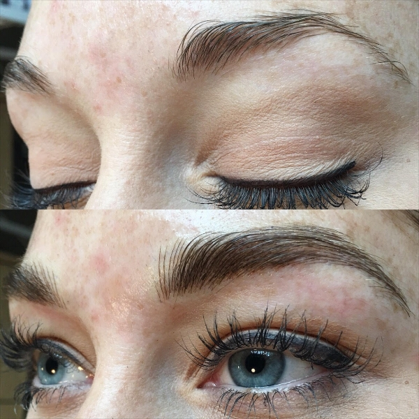 Natural Fluff with Microblading