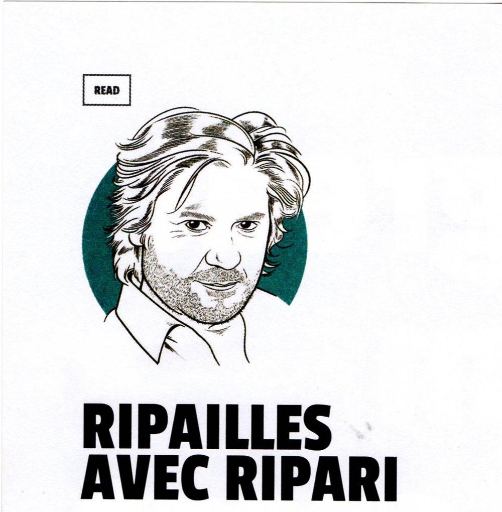 ripailles avec Sébastien Ripari