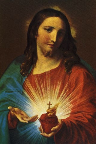 The Sacred Heart of Jesus, Pompeo Batoni, 1767/Public Domain