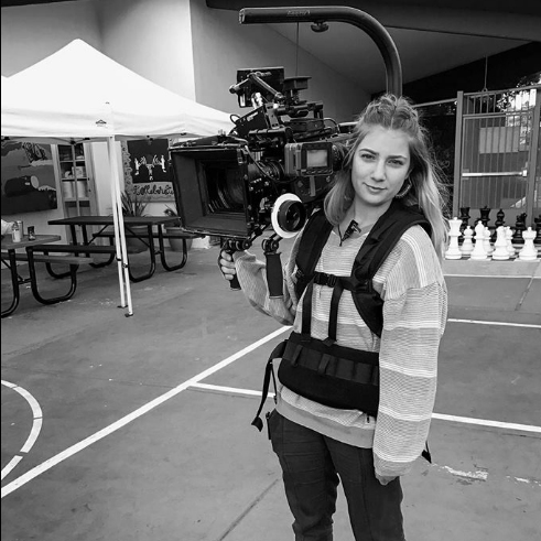 Kim Boden:  Camera Assistant
