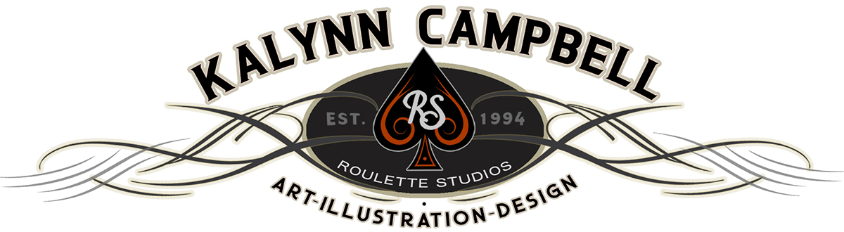 KALYNN CAMPBELL/ROULETTE STUDIOS Illustration & Design