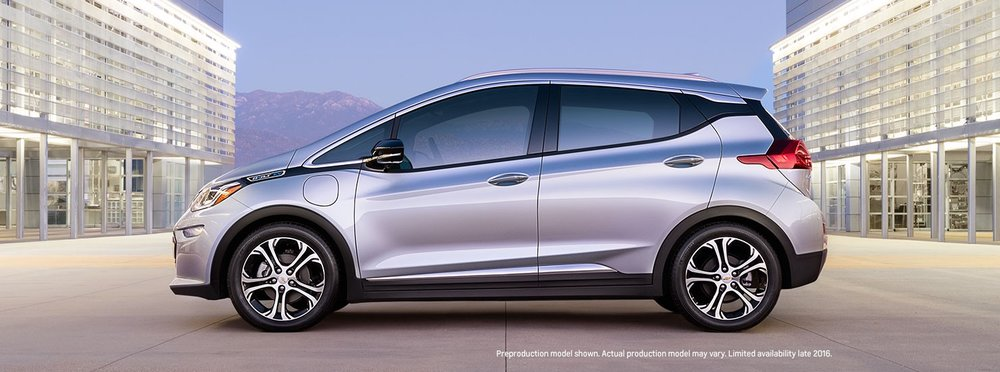 While the Chevy Bolt will likely cost just slightly more than the Tesla Model 3, it will come out a year earlier, have slightly more range, and have massive production speed / scale advantages over Tesla.