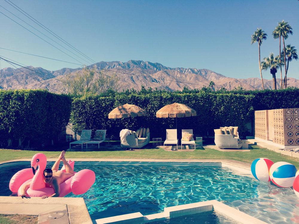 BURTON HOUSE PALM SPRINGS  Palm Springs, California USA