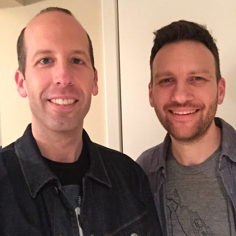 Matt with our host