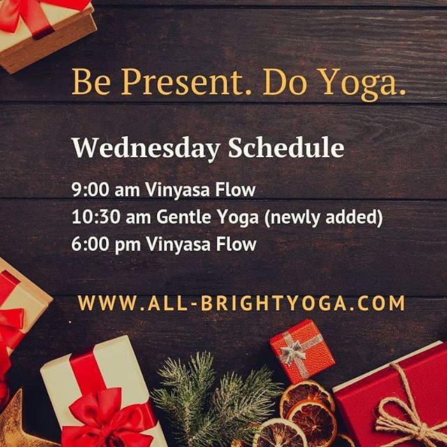 Be Present. Do Yoga. Join us at All Bright Yoga, 766 Main Street Hellertown, Pa #allbrightyoga #hellertown