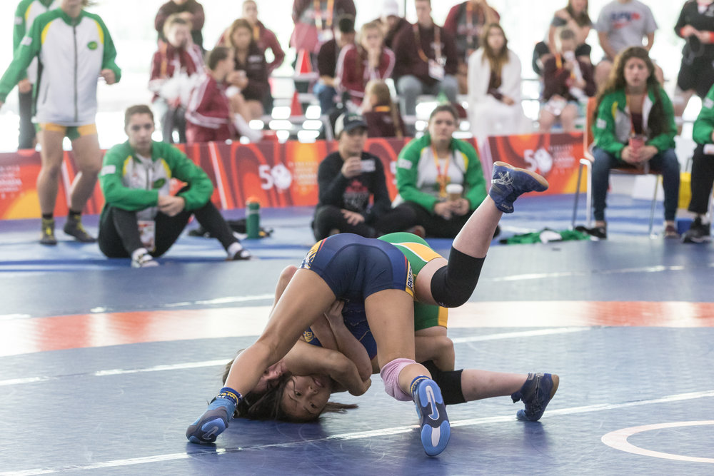 Canada Summer Games - Women's Wrestling