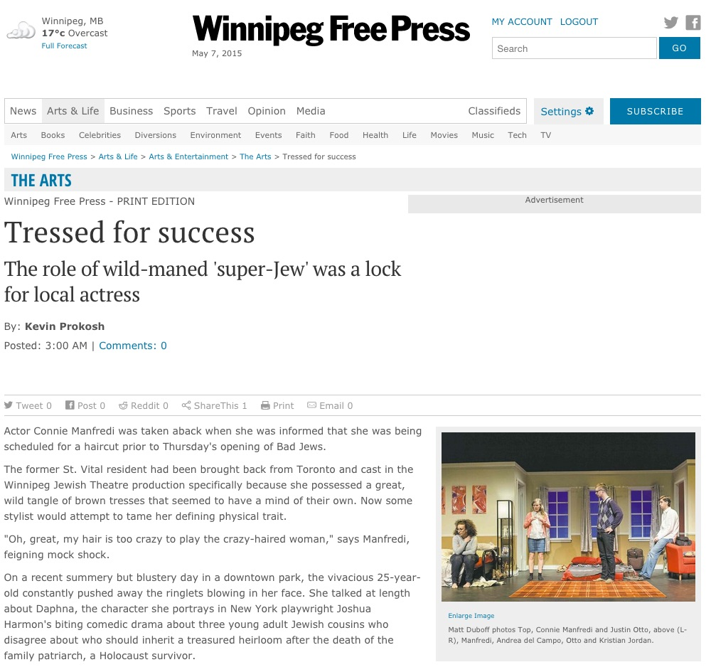 2015.05.07 - Winnipeg Free Press Website 1.jpg
