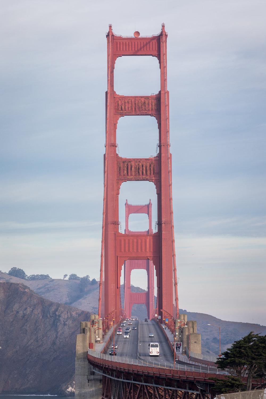 Golden Gate Bridge, San Francisco, California [December, 2017]