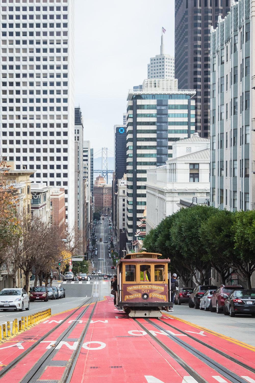 Sacramento Street, San Francisco, California [December, 2018]