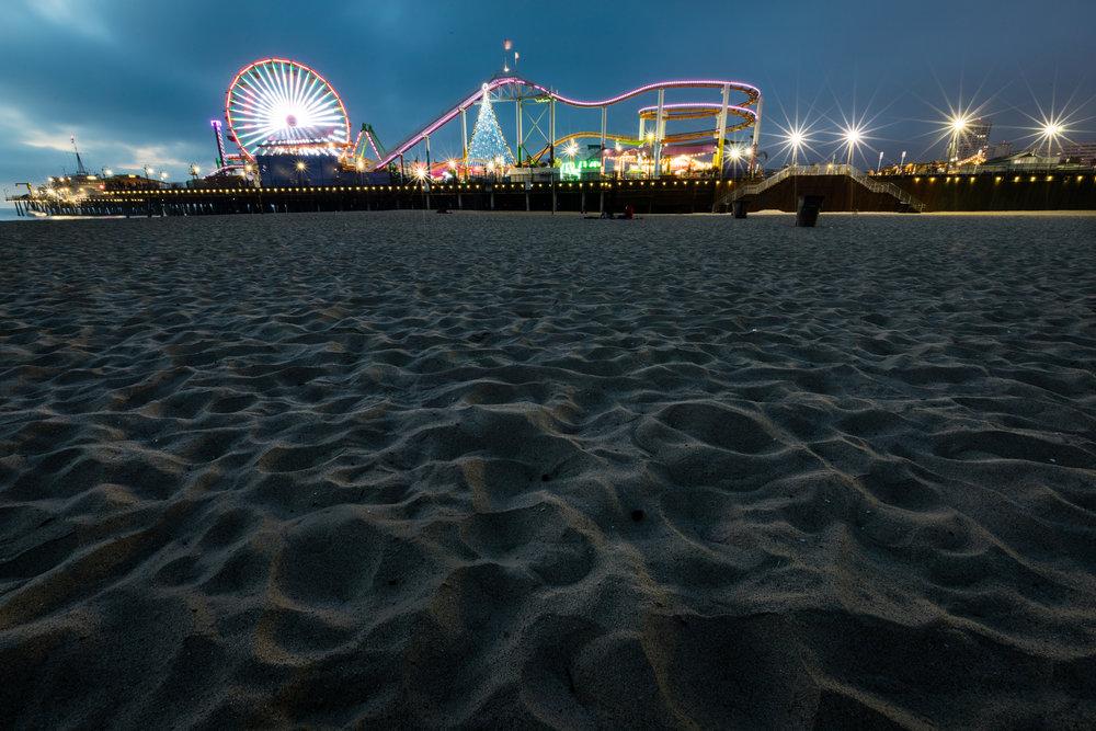 Santa Monica Pier, Santa Monica, California [December, 2017]