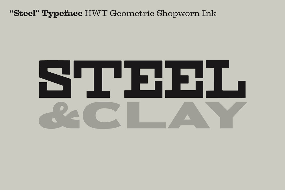 Click here  to see HWT Geometric Shopworn Ink One on Adobe Fonts