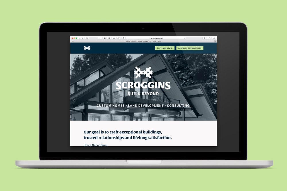 Scroggins Website Design