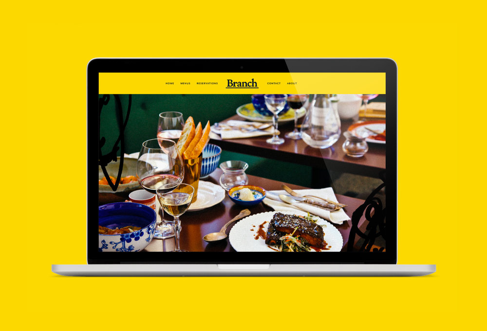 Website for Branch –  Make a Reservation.