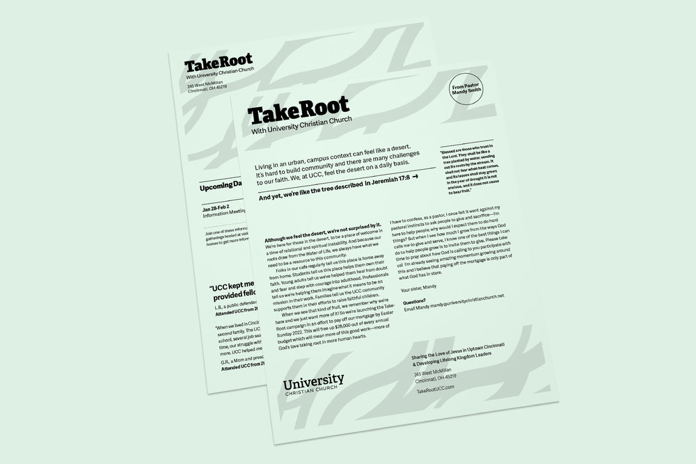 TakeRoot Newsletter